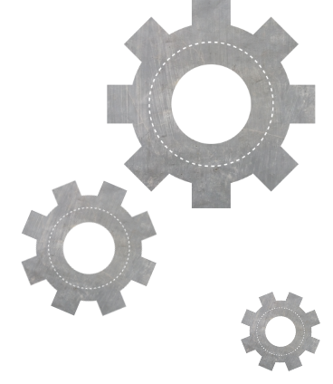 An icon of gears.